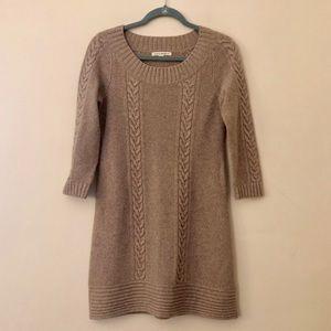 Banana Republic Cable Knit Sweater Dress
